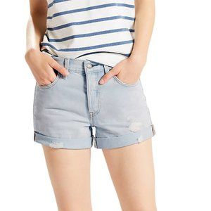 Levi's 501 Rolled Short Button Fly